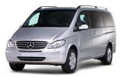 Chauffeur driven Mercedes Viano people carrier - Up to 7 passengers in comfort, from Cars for Stars (Southend) - Airport Transfer Services